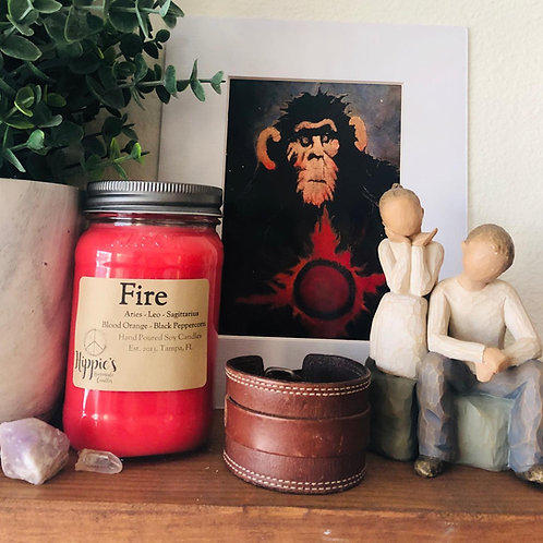 Fire Zodiac Candle