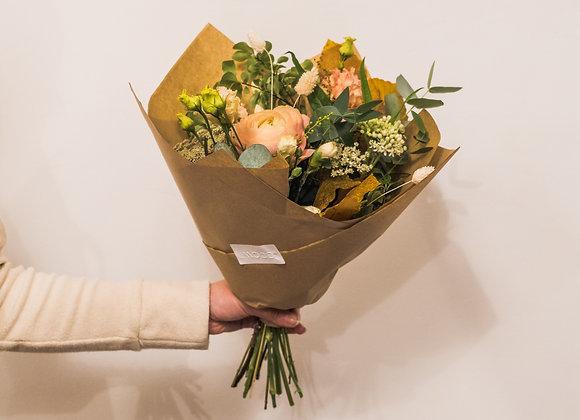 Kytica zo sezónnych kvetov - menšia
