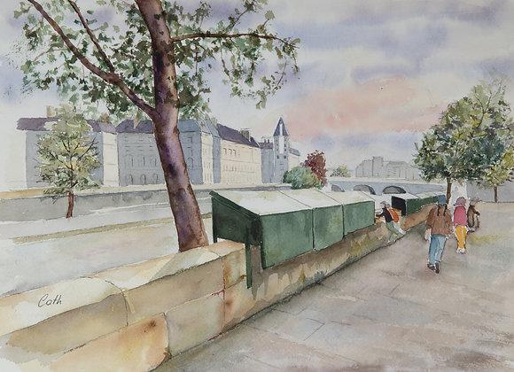 Le bookiniste de Paris
