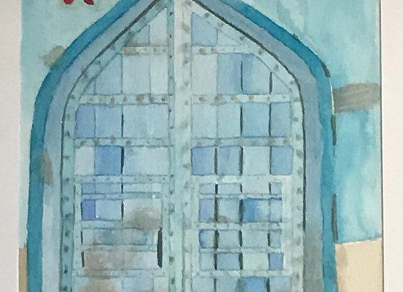 Old Delhi's door