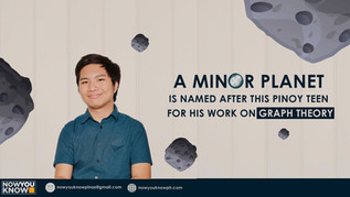 #TatagPinoy: A Minor Planet is Named After This Pinoy Teen