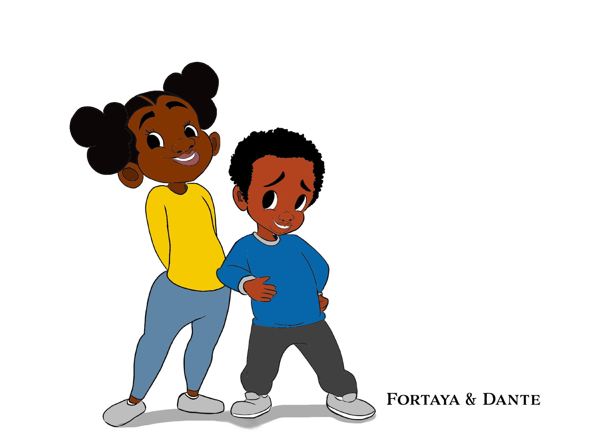 Character Design for Fortaya & Dante