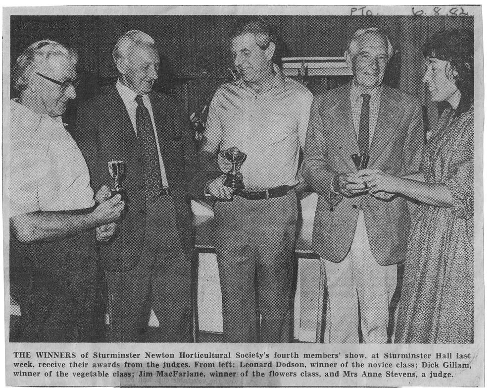 1982 Sturminster Newton Show