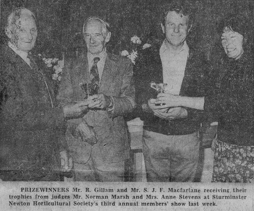 1981 Sturminster Newton Garden Club Show