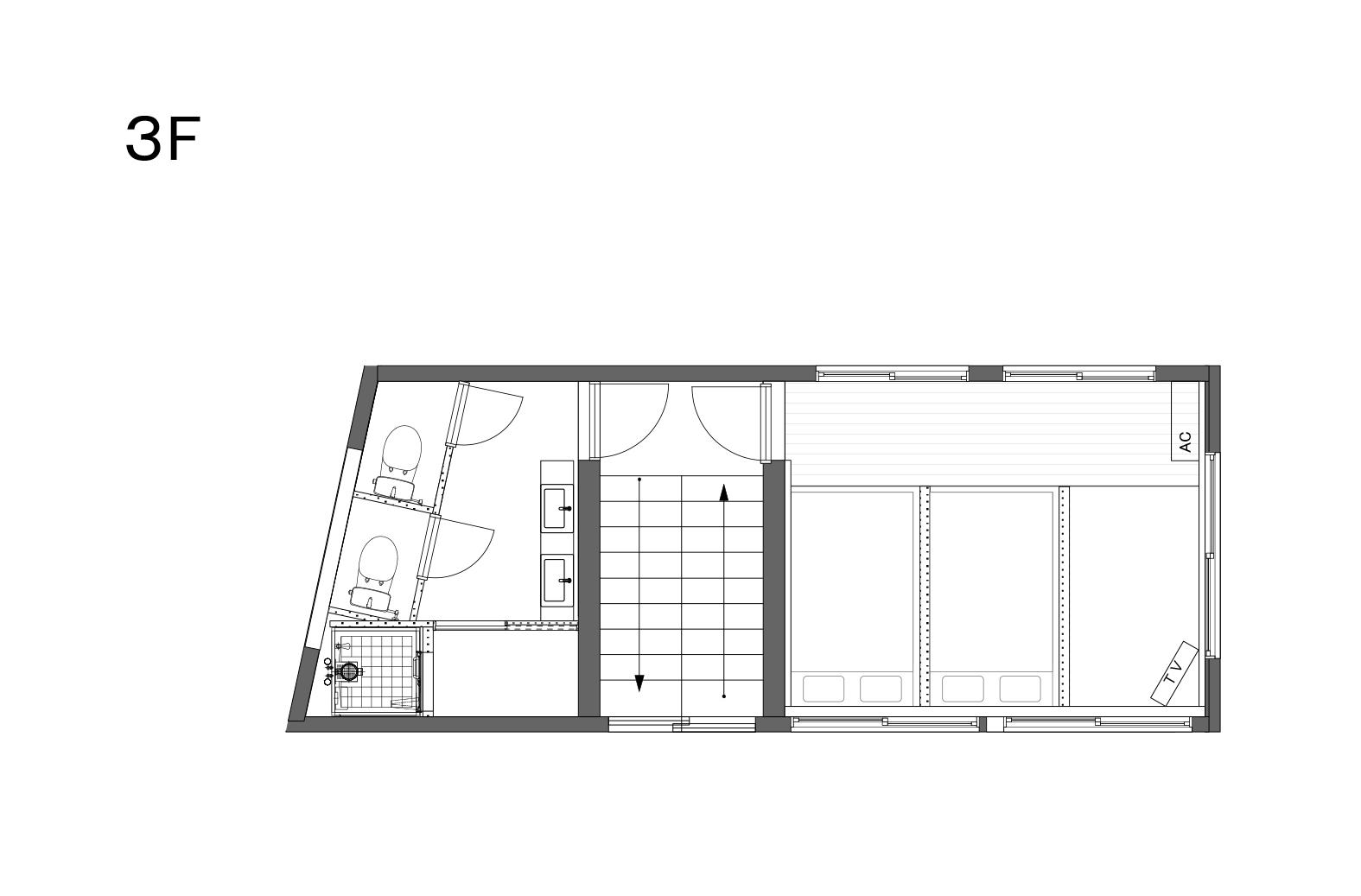 EA101淡路町_募集図_3F_190927