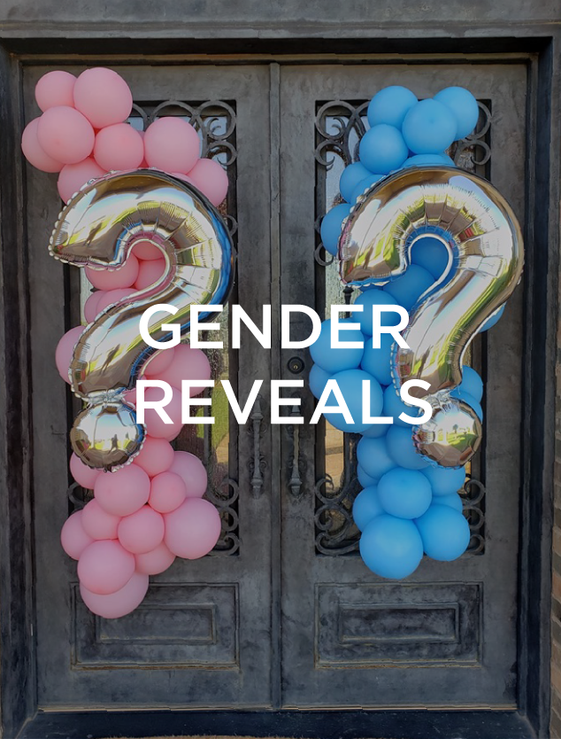Codys Red Balloon Services Gender Reveal