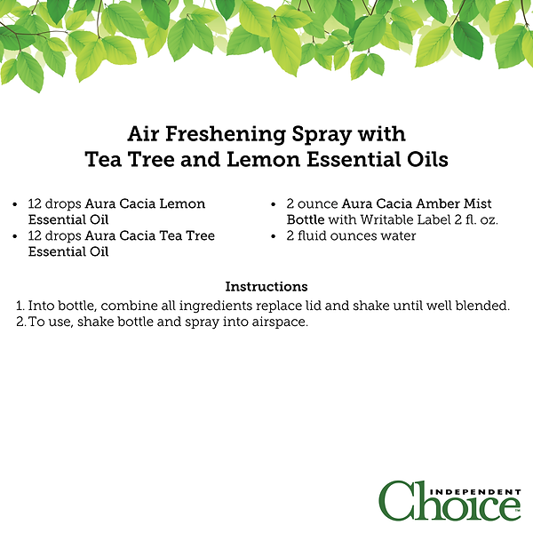 Air Freshening Spracy with Tea Tree and