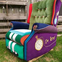 Alice in Wonderland recliner SOLD