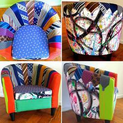 GraffiTIE Chair