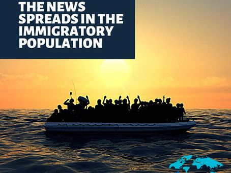 📣 THE NEWS SPREADS IN THE MIGRATORY POPULATION 📣