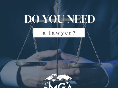 Do you need a lawyer?