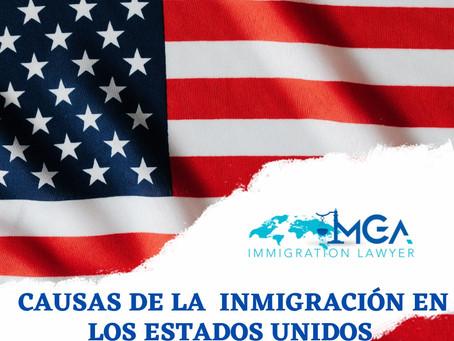 ¿Por qué la inmigración a los Estados Unidos?