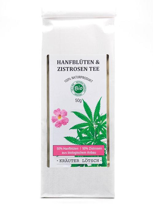 Hanfblüten & Zistrosen (cistus) Tee BIO