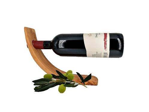 Weinflaschenhalter olivenholz