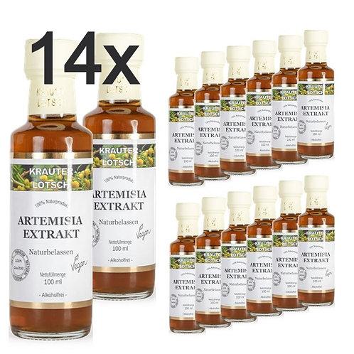 14x 100ml Artemisia annua Extrakt