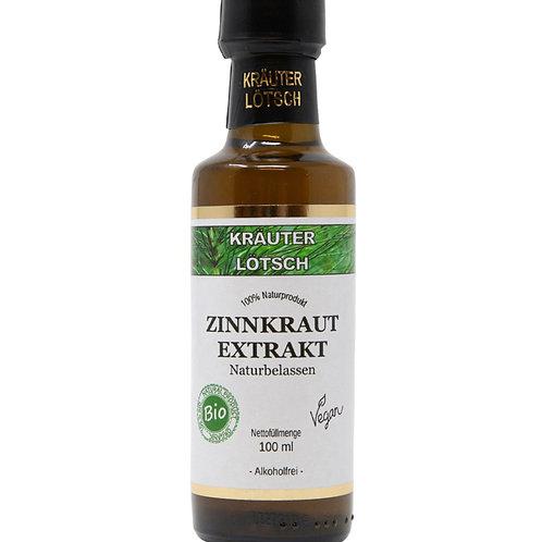 Zinnkraut Extrakt Naturbelassen Alkoholfrei BIO