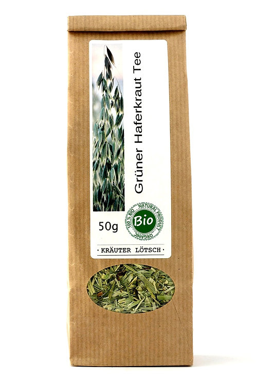 Grüner Haferkraut Tee BIO