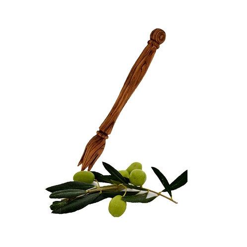 Olivengabel aus Olivenholz