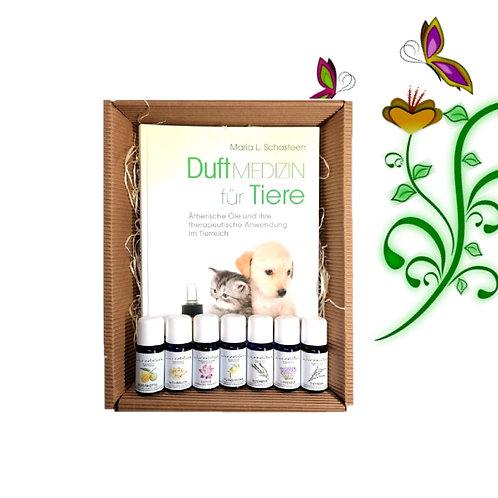 Duftmedizin für Tiere + Ätherische Öle Box