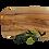 Thumbnail: Olivenholz Schneidebrett handgemacht