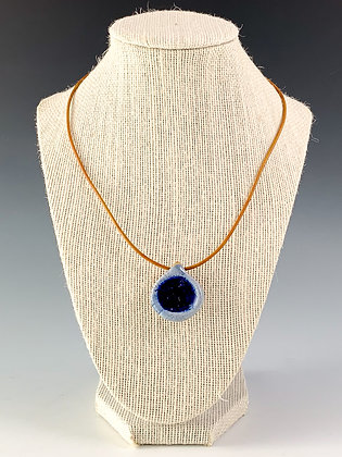 Glass Geode Necklace 15