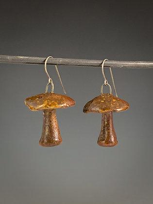 Mushroom Earrings #5