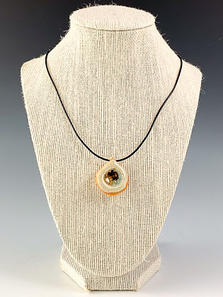 Glass Geode Necklace 5