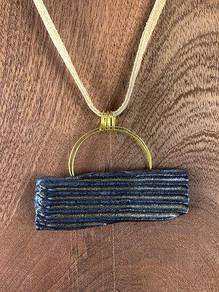 Corrugated Pendant (dark)