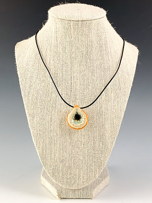 Glass Geode Necklace 8