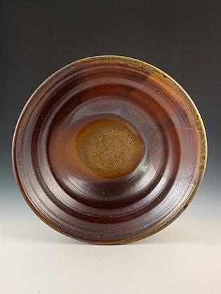 Slip-Drop Serving Bowl