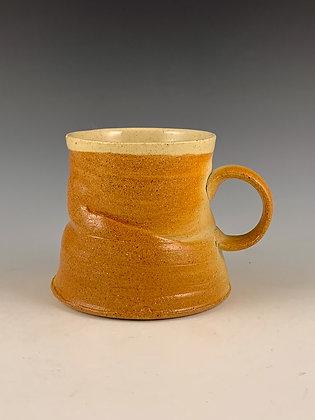 Twice-Fired Folded Mug