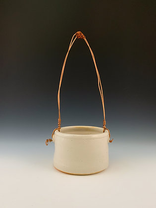 Basket with Copper Handle