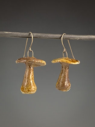 Mushroom Earrings #4
