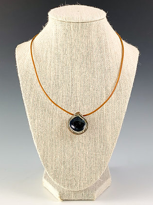 Glass Geode Necklace 14