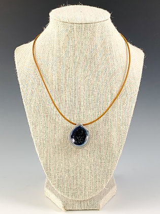 Glass Geode Necklace 10