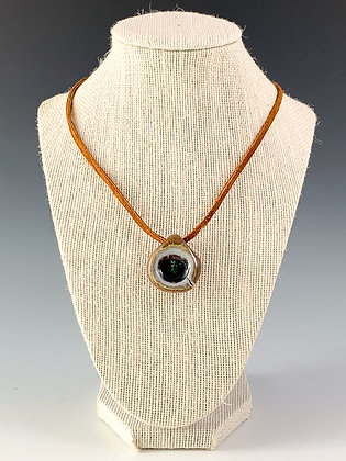 Glass Geode Necklace 17