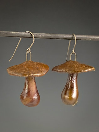 Mushroom Earrings #7