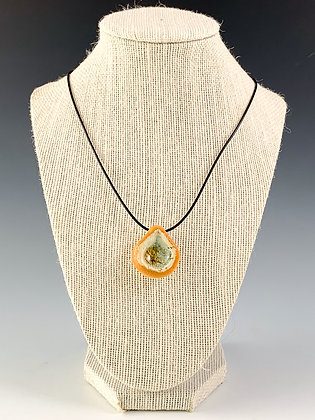 Glass Geode Necklace 7