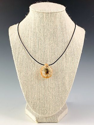 Glass Geode Necklace 4