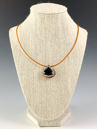 Glass Geode Necklace 13