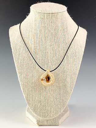 Glass Geode Necklace 3