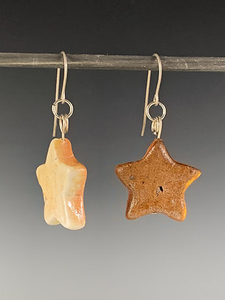 Small Mixed Star Earrings