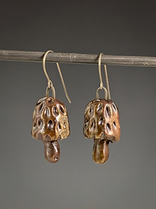 Morel Earrings #1