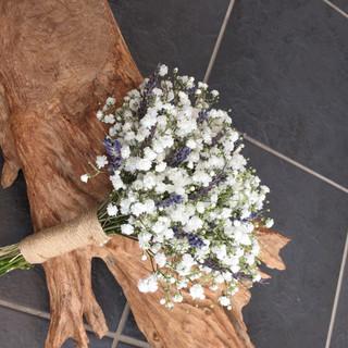 Bridesmaid - Gypsophila and Lavender