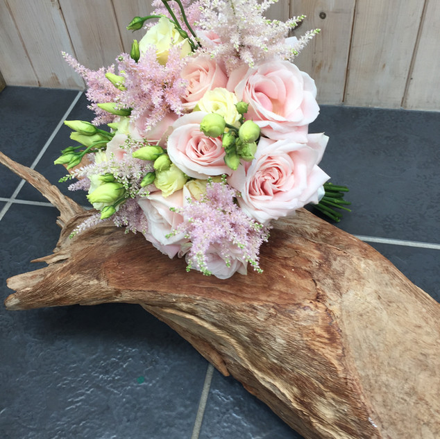 Soft pinks - Bridal Bouquet