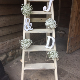 Ladder decorations