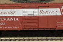 Pennsy X29 Merchandise Boxcar with Patch Panels