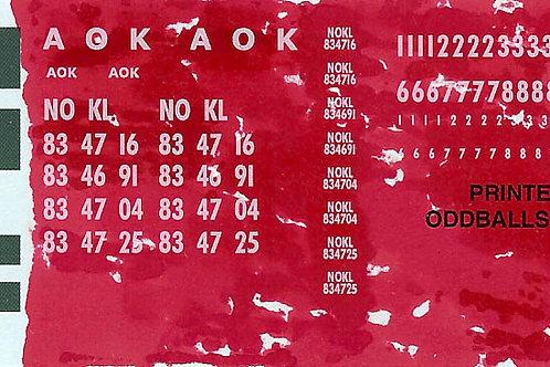 AOK and NOKL Decals