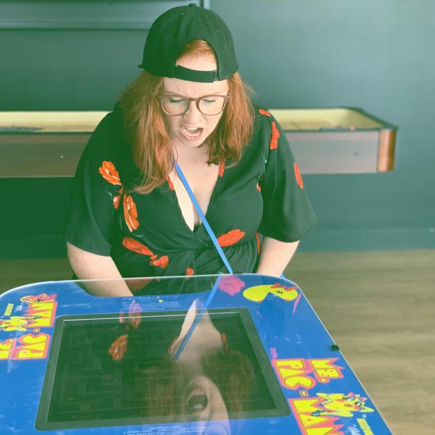 I love arcade games 😍