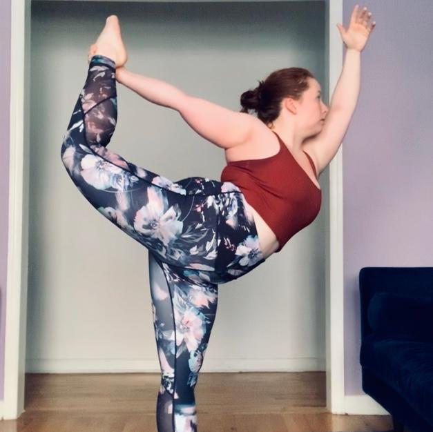 Yoga - Dancer's Pose